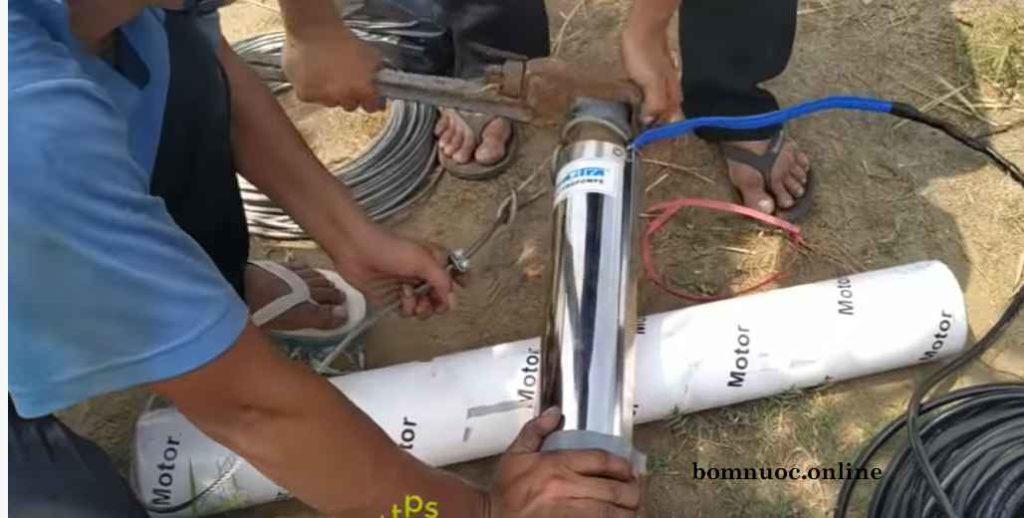 Nguyen nhan may bom gieng khoan khong len nuoc